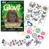 Glow in the Dark Tattoos for Girls