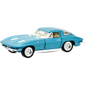 Corvette String ray 63' (Red, Blue & Silver)
