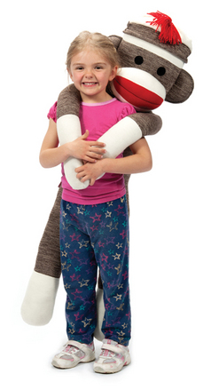 Jumbo Sock Monkey picture