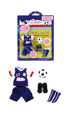 Lottie Girls United Outfit picture