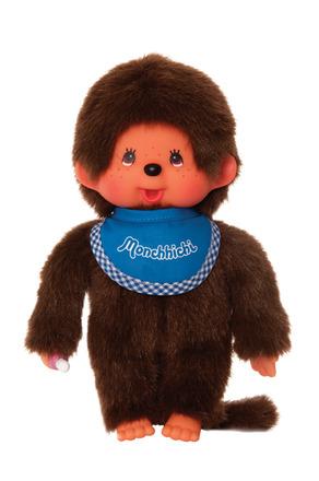 Monchhichi Boy - Blue Bib picture