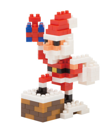 Santa Claus on the Chimney picture
