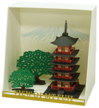 Five Storied Pagoda papernano picture