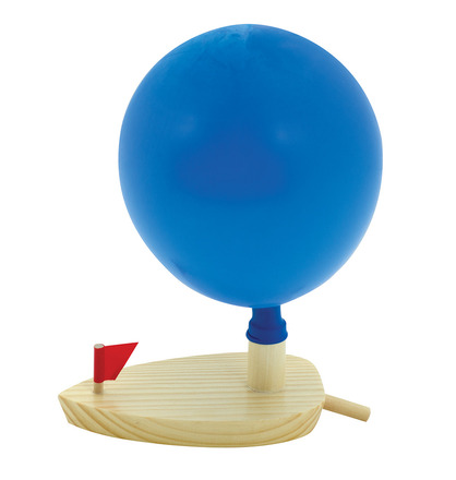 Balloon Powered boat picture