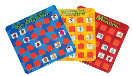 Sill Monster Memory Game picture