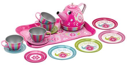 Musical Tin Tea Set picture