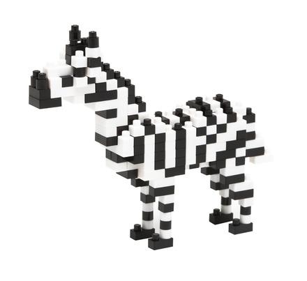 Nanoblock Zebra picture