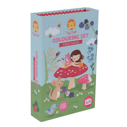 Colouring Set Forest Fairies picture