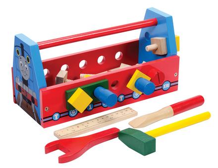 Thomas Wood Tool Box W/ Tools picture