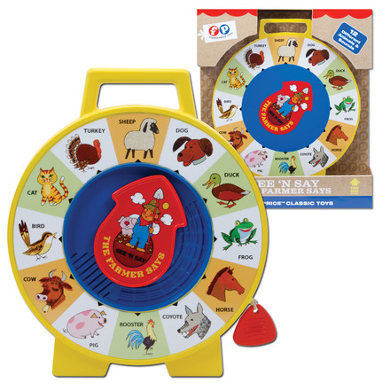 Fisher Price See N Say picture