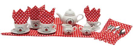 Ladybug Teaset Basket picture
