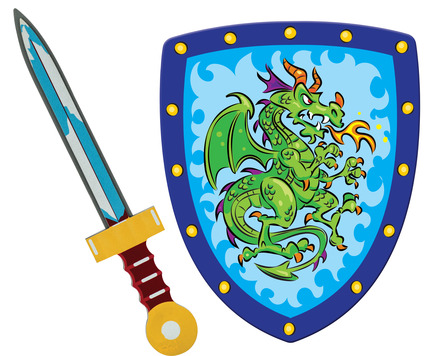 Knight Sword & Shield Set picture