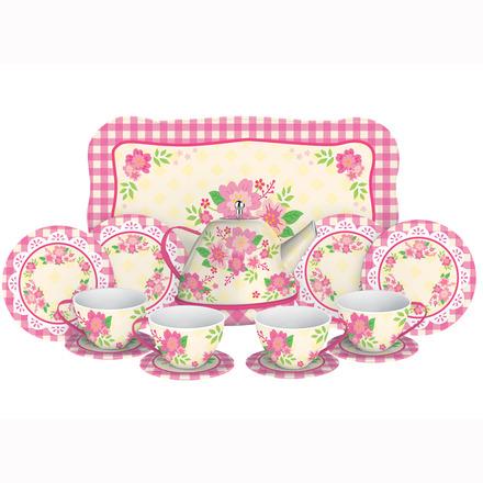 Fancy Tin Tea Set picture