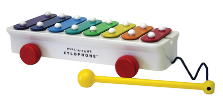 Fisher Price Pull-A-Tune Xylophone picture