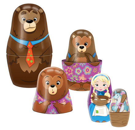 Goldilocks Nesting Dolls picture