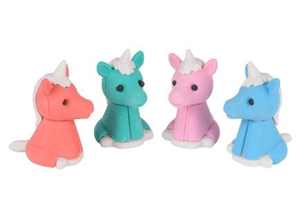 Unicorn Erasers picture