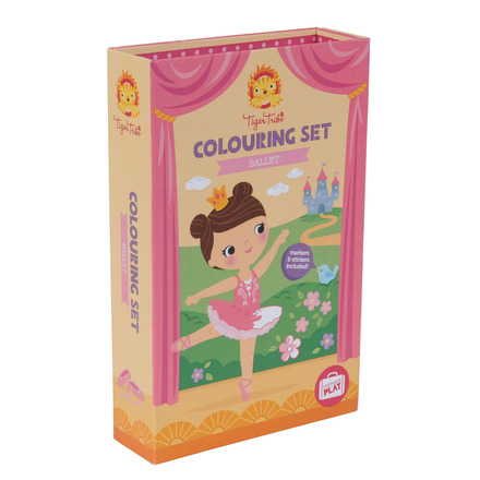 Colouring Set Ballet picture
