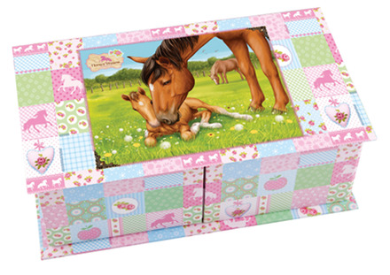 Horses Dreams Jewelry Box picture