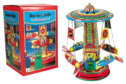 Rocket Ride Carousel picture