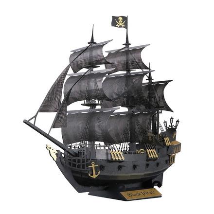 Paper Nano Black Pirate Ship picture