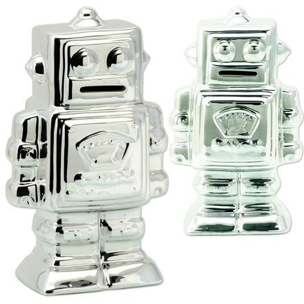 Metallic Robot Bank picture