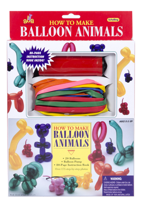 How To Balloon Animals Kit Schylling