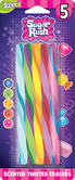 Scented Sugar Rush Twisted Erasers - 5pk
