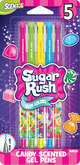 Scented Sugar Rush Gel Pens - 5pk