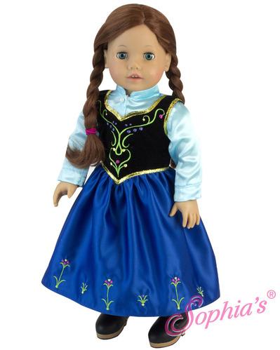 Nordic Princess Dress & Satin Blouse picture