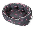 Round Comfort Dog Bed