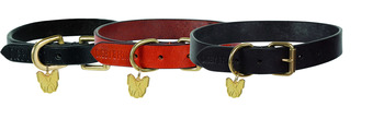 Digby & Fox Flat Leather Dog Collar picture
