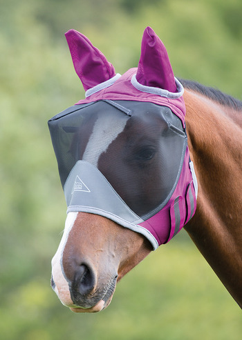 Deluxe Fly Mask with Ears picture
