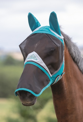 Full Face Fly Mask - Detachable Nose picture