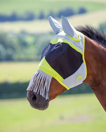 Air Motion Fly Mask with Ears & Nose Fringe picture