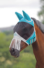 Fine Mesh Fly Mask - Nose Fringe & Ears