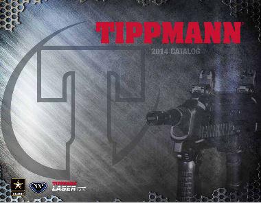 2014 Tippmann Catalog Cover