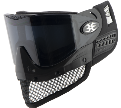 Empire E-Mesh Airsoft Goggle System - Black - Thermal Smoke picture