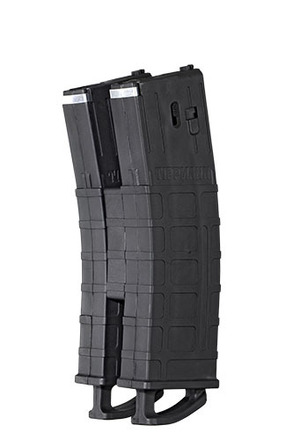 Tippmann TMC .68 Cal Mags w/ Coupler 2 pack Black picture