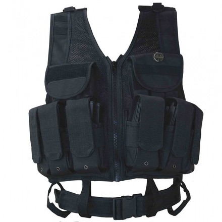 HPA Tactical Airsoft Vest - Black picture