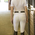 FITS PerforMAX™ Zip Front White Full Seat Breech