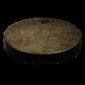 """Rhythm Lid™ Skyndeep® Drumhead - Beige Fiberskyn® Graphic, 13"""", Medium"""