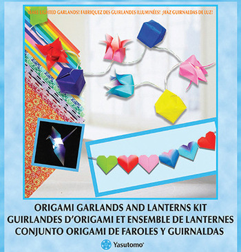 Garland and Lantern Origami Kit picture