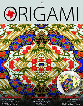 Kaleidoscope Origami, Yuzen Kimono picture