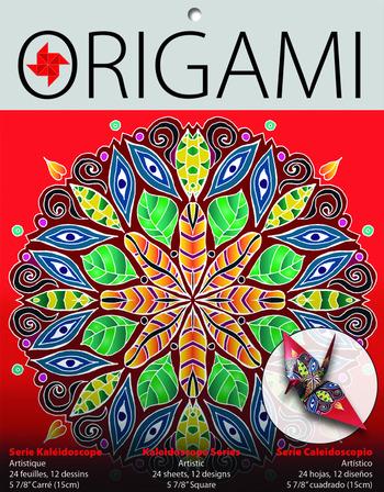 Kaleidoscope Origami, Artistic picture