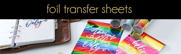 New Products, Deco Foil, Foil Transfer Sheets | Therm O Web Online