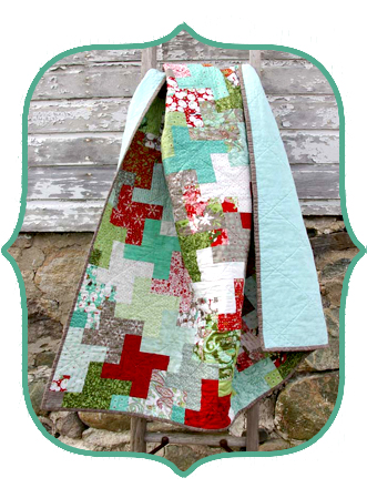 Holiday Quilt by Amy Friend made with Therm O Web Products