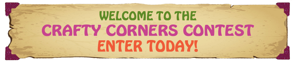 Welcome to the crafty corners contest by therm o web