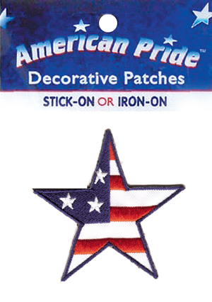 Red, White & Blue Stars ( 12 packs included) picture