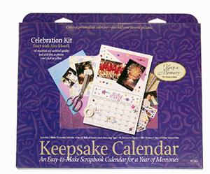 Keepsake Calender Kit (3 kits included)  - Celebration Theme picture
