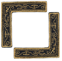 Black & Gold Scroll - Heritage Page Corners (6 packs included) picture